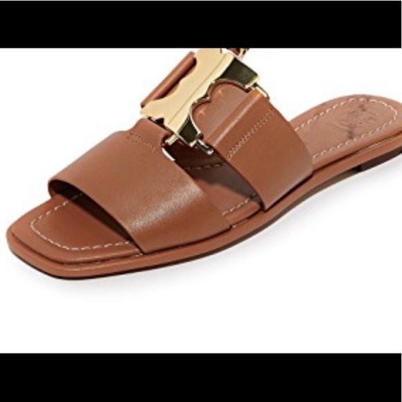 5812be1afe2 Tory Burch Gemini link slides Sandal New Size 8. M 5b47a16d04e33dfb5d22ff84